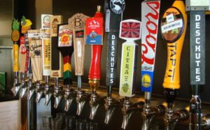 View of Beers On Tap