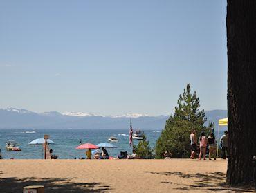 Kings Beach and Lake Tahoe