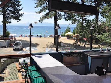 View From Upper Deck Bar