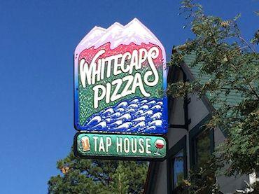 Whitecaps Pizza Sign