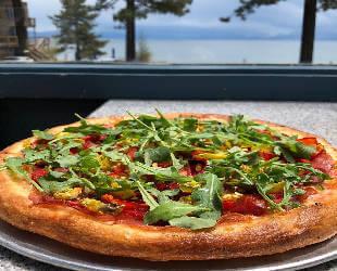 the Italian pizza
